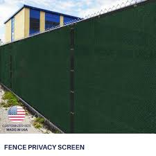 4 5 6 8 Feet Tall Green Privacy Fence Windscreen Shade Mesh Fabric Shade Net For Sale Online