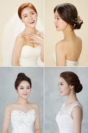 6 korean bridal hair makeup style