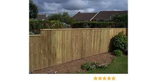 Ruby Pack Of 10 Feather Edge Fencing Treated Wood Close Board 150mm Wide 1 5m High 2 Amazon Co Uk Garden Outdoors
