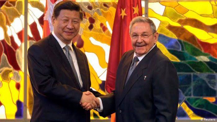 """Resultado de imagen de imagenes del presidente de Cuba y China"""""""