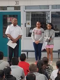 Fairburn School - Student Counselors Ida Hill and Lavina Faavesi ...