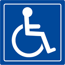 Stickers Handicap Logo Sign Sticker Buy From E Shop