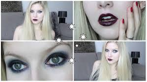 glam goth makeup tutorial saubhaya makeup