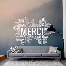 Thank You Merci Wall Stickers Classroom Wall Decals Office Wall Decal School Office Decor Classroom Decor Thankyou Sticker G31 Wall Stickers Aliexpress
