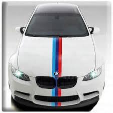 Bmw M Power 3 Colored European Car Racing Decal Diy Vinyl Sticker Wrap Paint Ebay