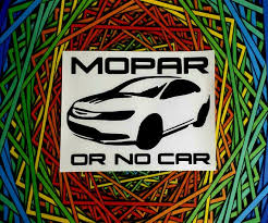 Chrysler 200 Mopar Or No Car Decal Etsy