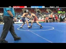 Cadet 170 - Dustin Gray (Missouri) vs. Anton Krocko (Illinois) - YouTube