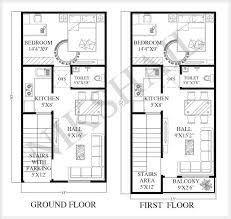 15x30 house plan with 3d elevation