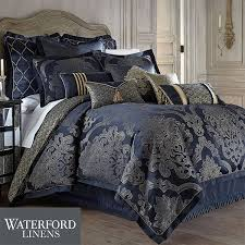 vaughn navy comforter bedding by