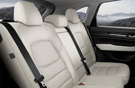 leather rear seats inside 2018 mazda cx
