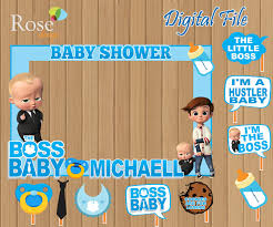 Digital Boss Baby Booth Frame And Props Boss Baby Props Boss