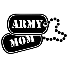 Us Army Mom Dogtags Sticker