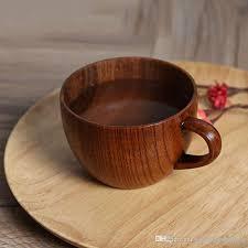 tea mugs retro wooden coffee mug cups