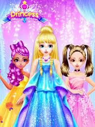 princess dress up games makeup salon