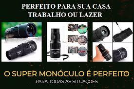 Super Luneta Monócular de Alta Visibilidade com Alcance de Até 8 ...