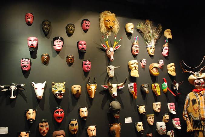 Source: Wikipedia/ Mexican tribal masks/statues