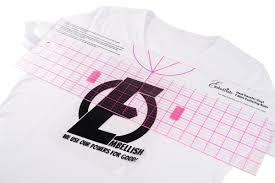 Embellish Heat Transfer Vinyl T Shirt Centering Ruler B Sew Inn