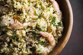 Chipotle Rice with Shrimp and Cilantro ...