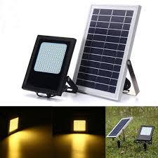 flood light sensor outdoor garden lamp