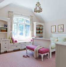 Jill Greaves Design Girl S Bedroom With Window Seat Traditional Kids Toronto By Jill Greaves Design