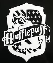 Amazon Com Harry Potter Hufflepuff Hogwarts House Crest Vinyl Decal For Car Laptop Etc Everything Else