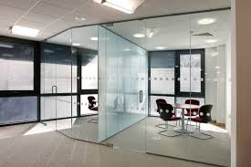 glass office partitions office design