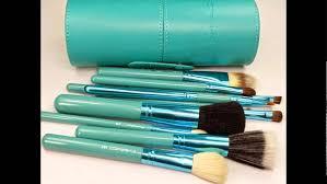 new mac professional makeup brush set