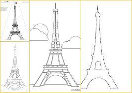 Plantillas De La Torre Eiffel Oh My Fiesta Para Chicas