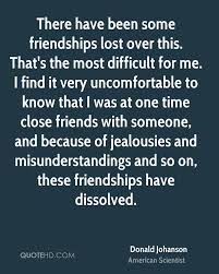 donald johanson friendship quotes quotehd