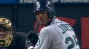 Adam Jones collects first Major League hit - YouTube