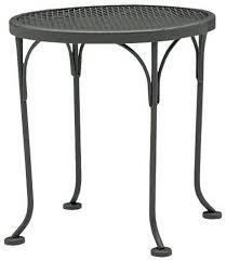 woodard wrought iron round decorative