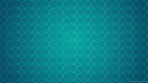 cyan pattern wallpaper 1920x1080
