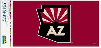 Amazon Com Graphics More Nhl Arizona Coyotes Logo Automotive Car Window Locker Bumper Sticker Furniture Decor