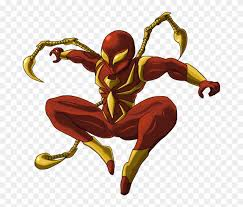 Iron Spiderman Clipart Spiderman Png Iron Spider Man Clip Art Transparent Png 3857834 Pinclipart