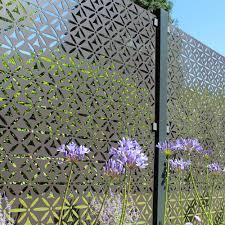 Buy Garden Screen Panels Contemporary Metal Fencing Burford Garden Company
