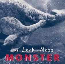 loch ness monster gift book highland