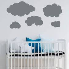 Clouds Silhouette Wall Decal Vinyl Decor Wall Decal Customvinyldecor Com