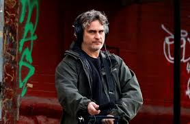 Joaquin Phoenix On Set of New Mike Mills Project in New York City ...