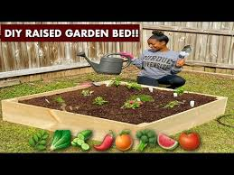diy raised garden bed you