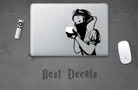 Snow White Sticker Snow White Decal For Laptop Macbook Ipad Etsy