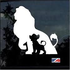 Simba Disney Lion Window Decal Sticker Custom Sticker Shop