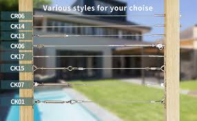 Muzata Galvanized Steel Wire Rope 1 8 Cable 65 Feet For Railing Decking Stair Balustrade Dog Run Clothes Lines Outdoors Diy 7x7 Strand Wr03 Series Wp1 Amazon Com