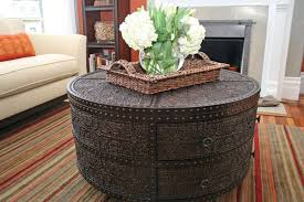 decorating a round coffee table kelly