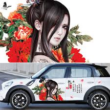 Diy Chinese Classical Beauty Sakura Cherry Car Decoration Stickers Drift Sticker Universal Camouflage Vinyl Car Door Stickers Car Decoration Stickers Car Door Stickersdrift Sticker Aliexpress