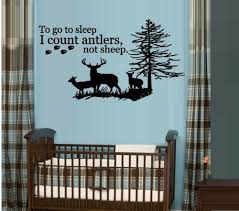To Go To Sleep I Count Antlers Not Sheep With Hoofs 23 Wall Decal Home Garden Decor Decals Stickers Vinyl Art Ayianapatriathlon Com