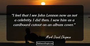 mark david chapman quotes