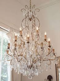 large italian chandelier with murano