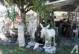 huge yard garden cement statuary of