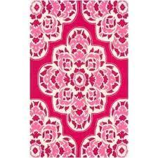 hot pink area rug ink co