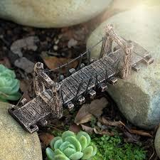 large swing bridge garden fairy creations